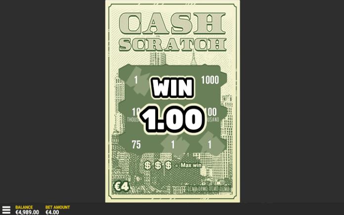 Cash Scratch