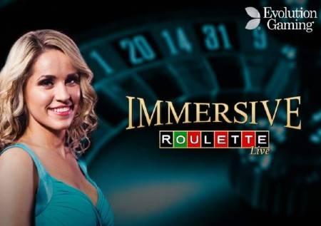 Immersive Roulette – kvalitetna uživo rulet igra!