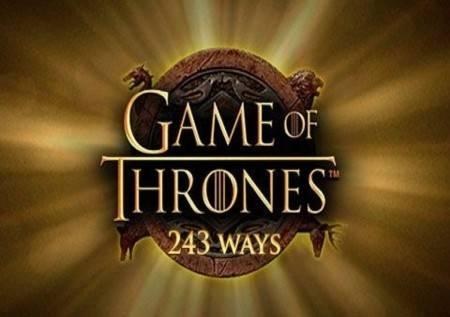 Game of Thrones 243 Ways – slavna serija u slotu