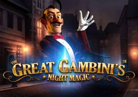 The Great Gambinis Night Magic – kazino čarolija