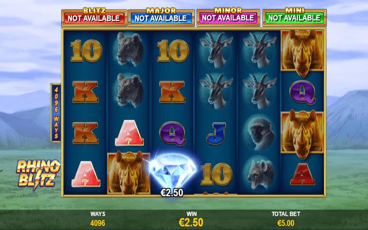 Jackpot Blitz Rhino Blitz