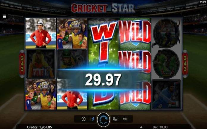 Wild Wickets Bonus-online casino bonus-cricket star