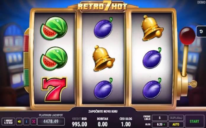 Retro 7 Hot-online casino bonus-fazi-klasični slotovi