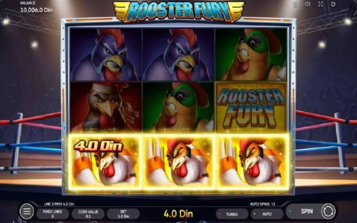Rooster Fury-online casino bonus-dobitna kombinacija-osnovna igra