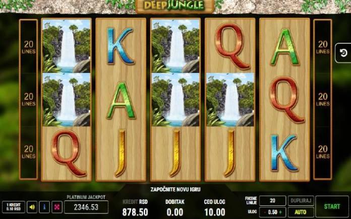 Deep Jungle-osnovna igra-online casino bonus