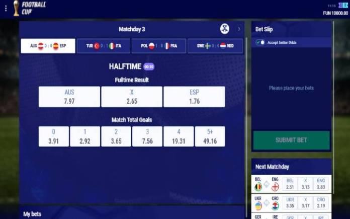 Virtual football cup- klaženje uživo-online casino bonus