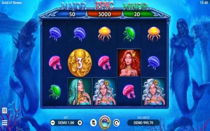 Gold of sirens-evoplay-online casino bonus-kockanje
