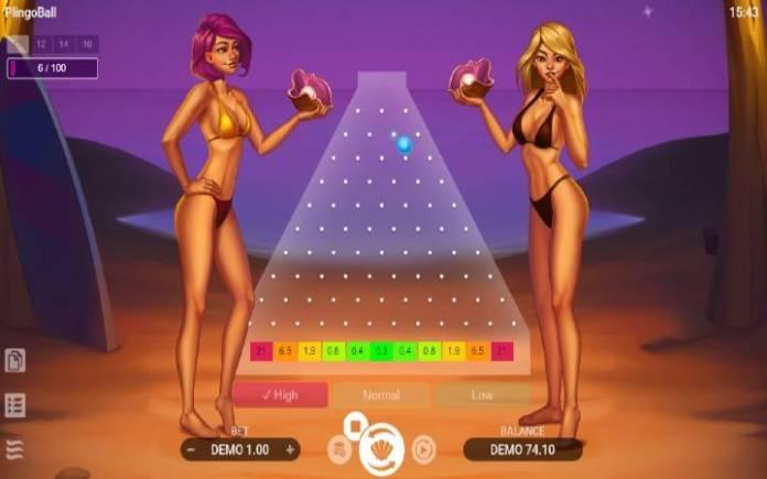 Plingoball-online casino bonus-fliperi-evoplay