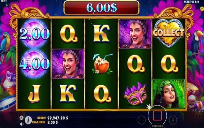 Heart of Rio-bonus igra-online casino bonus