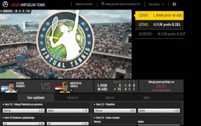 Virtual Tennis-online kazino-online casino bonus