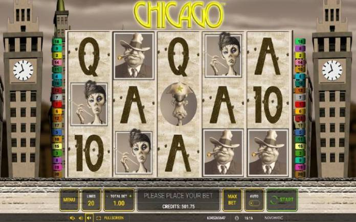 Chicago-online casino bonus-novomatic
