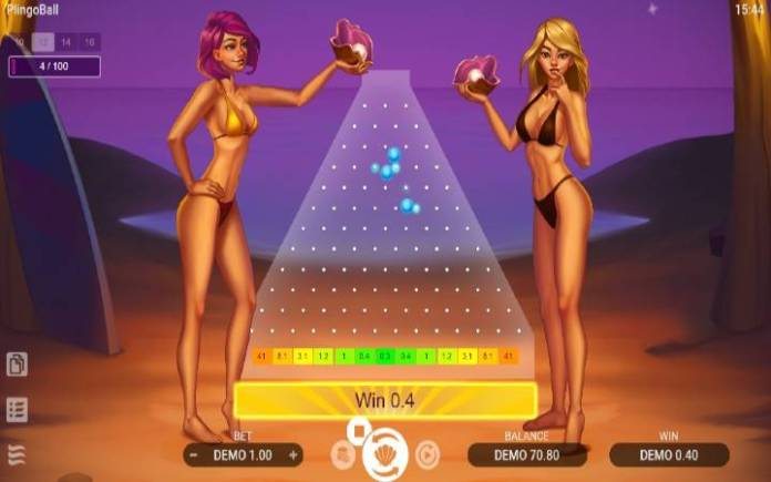 Plingoball-verzija igre sa 12 redova-online casino bonus