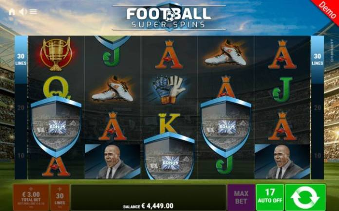Scatter-kako do besplatnih spinova-Football Super Spins