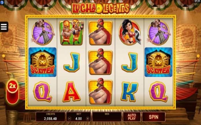 Lucha Legends-microgaming-online casino bonus-osnovna igra