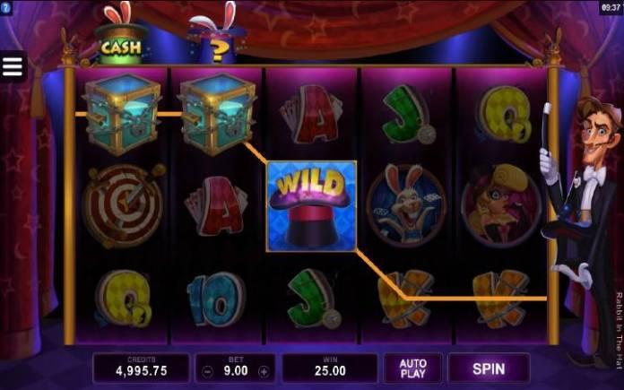 Rabbit in the Hat-džoker-dobitna kombinacija sa džokerom-online casino bonus