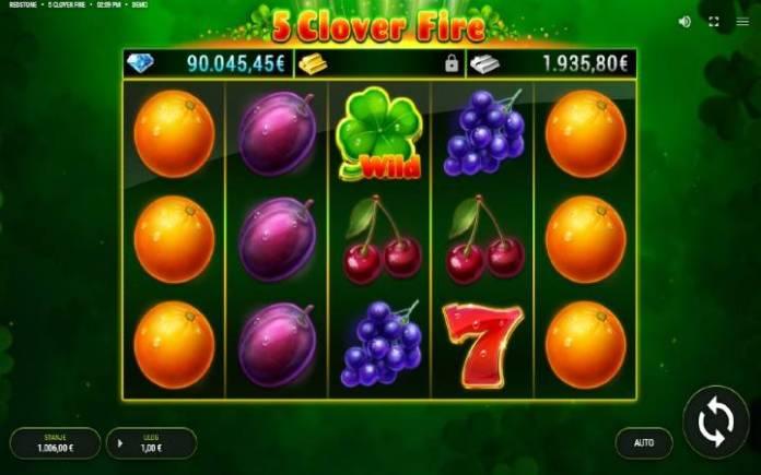 5 Clover Fire-online casino bonus-osnovna igra-fazi