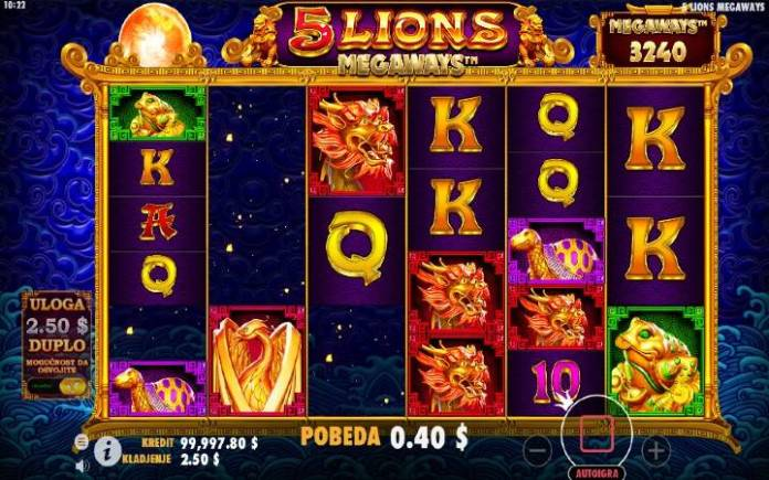 Kaskadne kolone-online casino bonus-5lions megaways