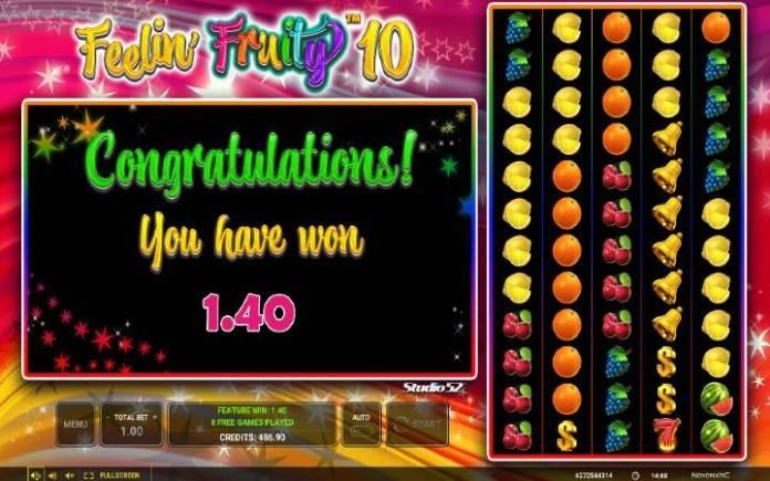 Besplatni spinovi-online casino bonus-Feelin Fruity 10