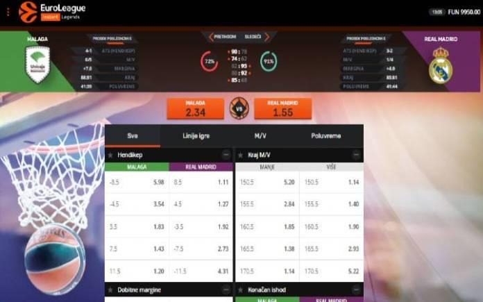 Euroleague Legends-online casino bonus-Basketball-virtuelna igra