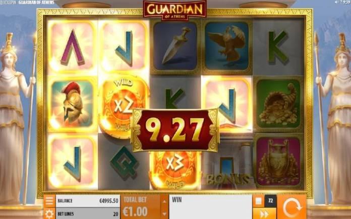 Džokeri-množioci-online casino bonus-Guardian of Athens