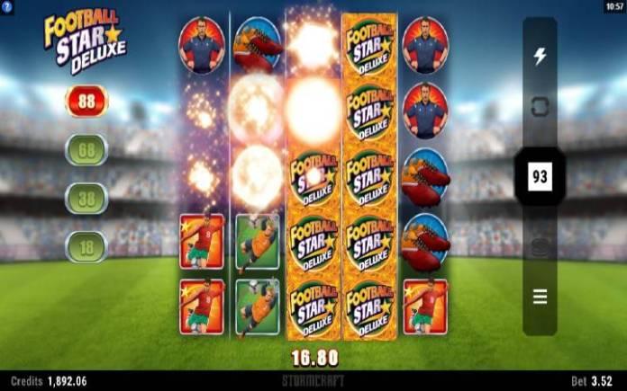 Kaskadne kolone-football star deluxe-online casino bonus