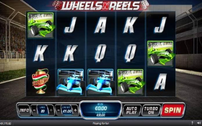wheels n reels-playtech-online casino bonus