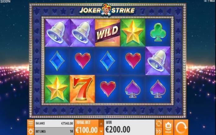 Joker Strike-online casino bonus-onsnovna igra