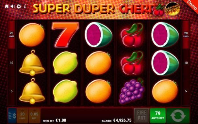 Super Duper Cherry-online casino bonus-gamomat