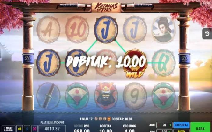 Džoker-online casino bonus-Katanas of Time