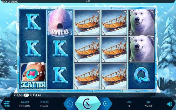 Book of Eskimo-online casino bonus-expanse studios