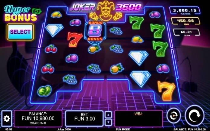 Joker 3600-online casino bonus-osnovna igra-kalamba
