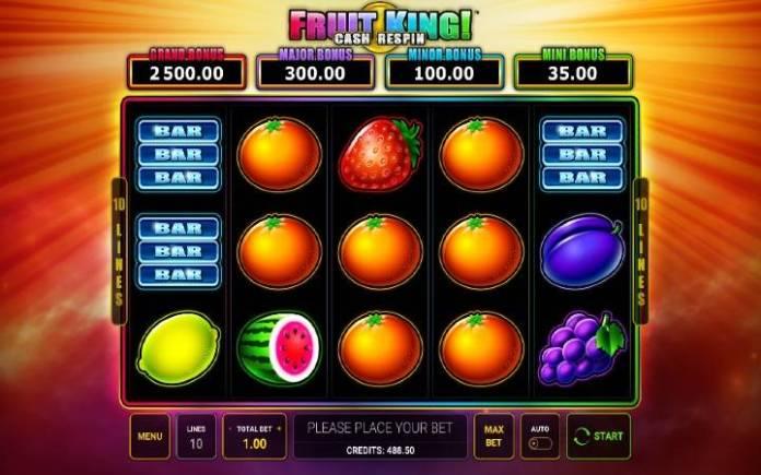Fruit King-online casino bonus-novomatic-green tube casino