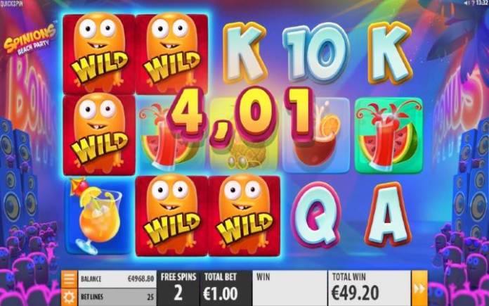 Spinions-quickspin-online casino bonus