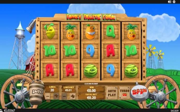Funky Fruits Farm-online casino bonus-osnovna igra