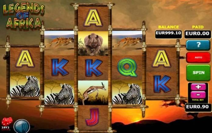 Legends of Africa-online casino bonus-osnovna igra