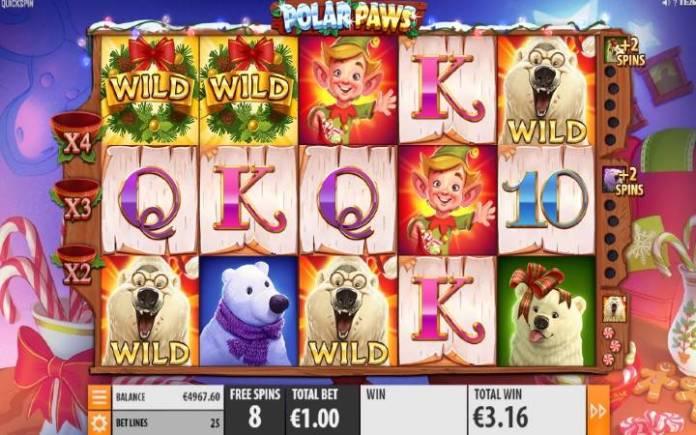 Polar Paws-online casino bonus-quickspin