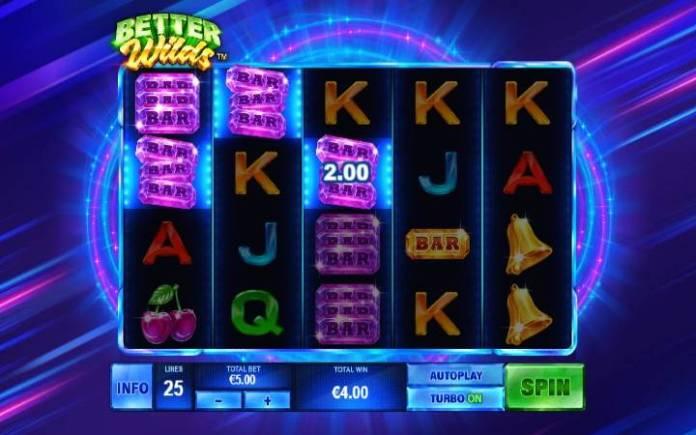Bar simboli-better wilds-playtech-online casino bonus