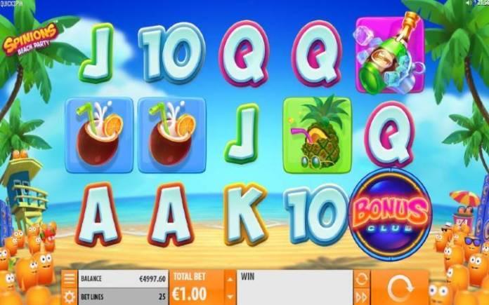Spinions-quickspin-online casino bonus-
