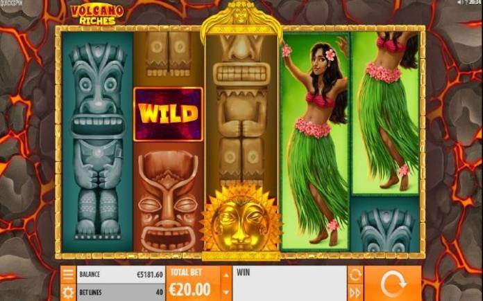 Džoker-online casino bonus-volcano wild