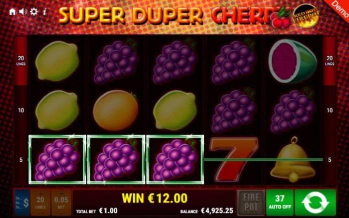 Super Duper Cherry-online casino bonus