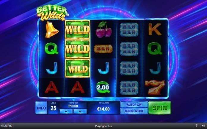 Džoker-online casino bonus-better wilds-playtech