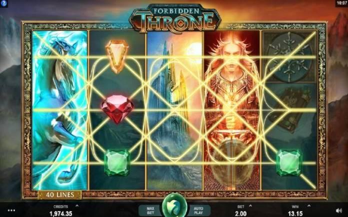 džoker-online casino bonus-forbidden throne-microgaming