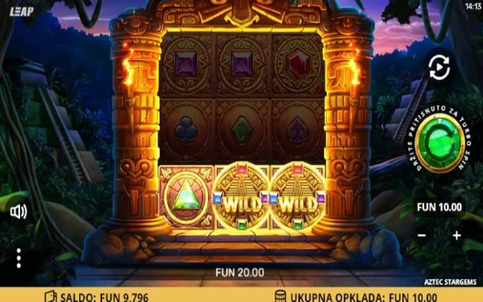 džoker-online casino bonus-aztec stargems-leap gaming