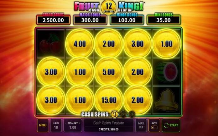 Cash Spins-online casino bonus-Fruit King-online casino bonus