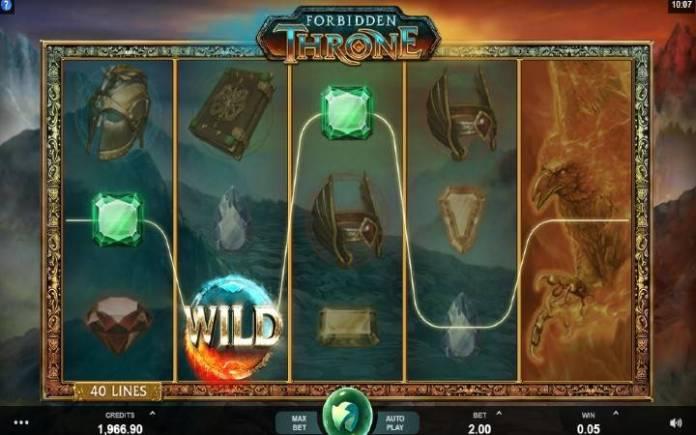 Džoker-onine casino bonus-forbidden throne
