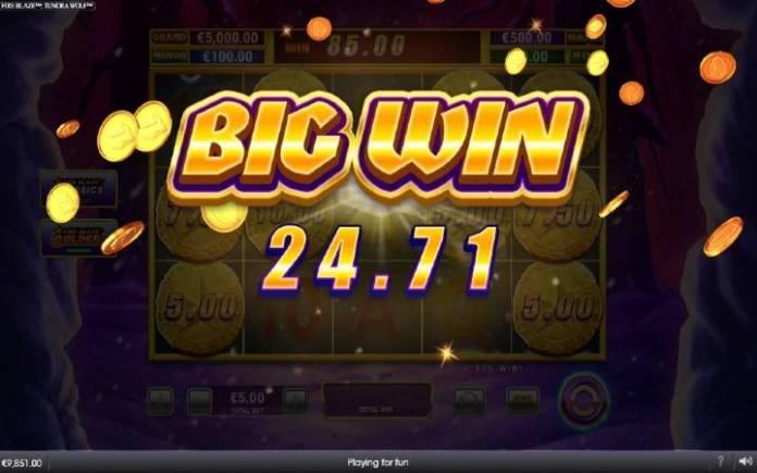 Fire Blaze Golden Respin Bonus-fire blaze golden tundra wollf-online casino bonus