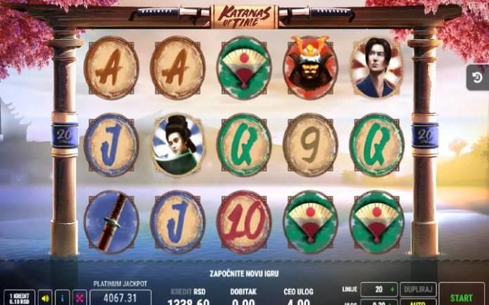 Katanas of Time-fazi-online casino bonus