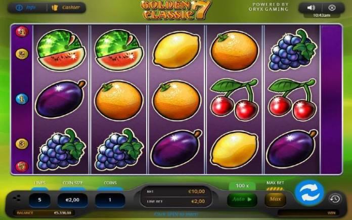 golden 7 classic-online casino bonus-oryx