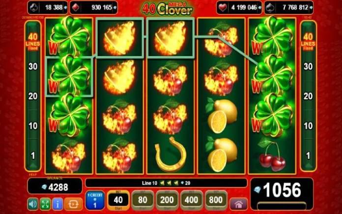 džoker-online casino bonus-40 mega clover