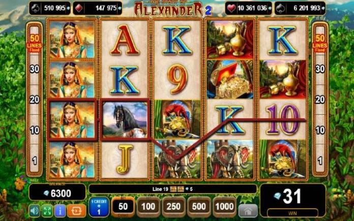 džoker-online casino bonus-the story of alexander 2